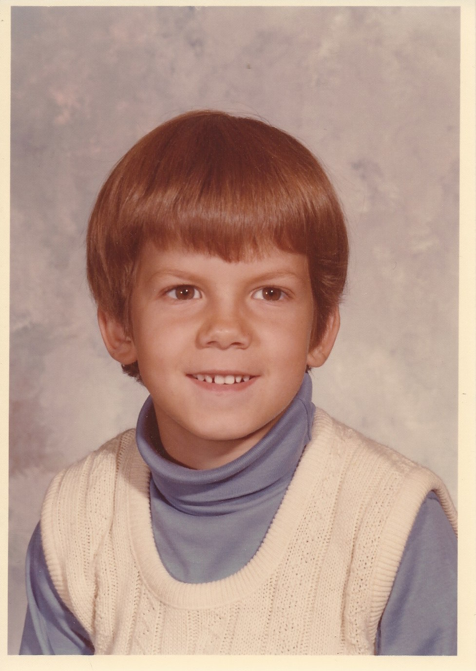 Jeff Whalen Growing Up 1976 - 6 years old (1st   Grade)