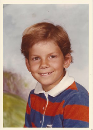 Jeff Whalen Growing Up 1978 - 8 years old (3rd   Grade)