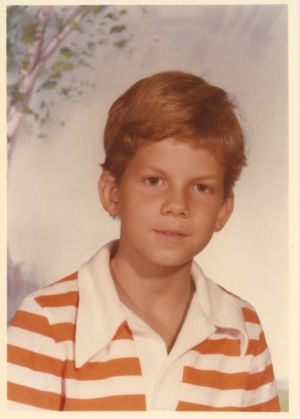 Jeff Whalen Growing up 1979 - 9 years old (4th   Grade)